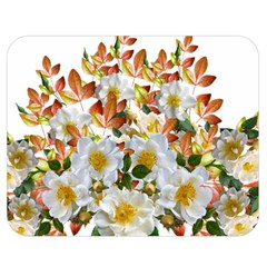 Flowers Roses Leaves Autumn Double Sided Flano Blanket (medium)
