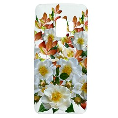 Flowers Roses Leaves Autumn Samsung Galaxy S9 Tpu Uv Case