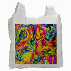 Mixed Paint                                 Recycle Bag by LalyLauraFLM