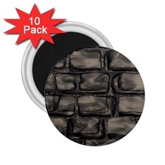Stone Patch Sidewalk 2 25  Magnets (10 Pack)  by HermanTelo
