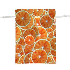 Oranges Background  Lightweight Drawstring Pouch (xl)