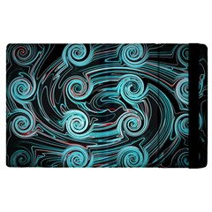 Background Neon Abstract Apple Ipad Pro 12 9   Flip Case by HermanTelo