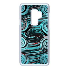 Background Neon Abstract Samsung Galaxy S9 Plus Seamless Case(white) by HermanTelo