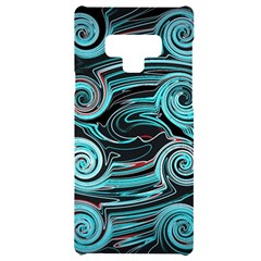 Background Neon Abstract Samsung Note 9 Black Uv Print Case