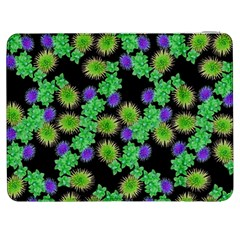 Flowers Pattern Background Samsung Galaxy Tab 7  P1000 Flip Case