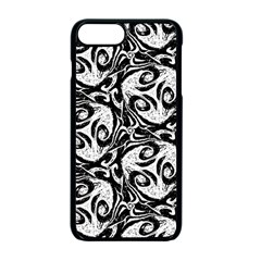 Fabric Pattern Iphone 7 Plus Seamless Case (black) by AnjaniArt