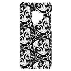 Fabric Pattern Samsung S9 Black Uv Print Case by AnjaniArt