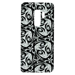 Fabric Pattern Samsung Galaxy S9 Plus Tpu Uv Case by AnjaniArt