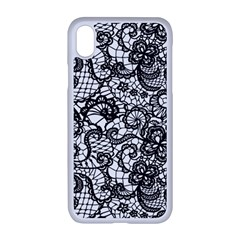 Encaje Iphone Xr Seamless Case (white) by Sobalvarro
