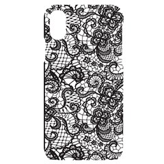 Encaje Iphone X/xs Black Uv Print Case by Sobalvarro