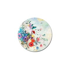 Floral Bouquet Golf Ball Marker (10 Pack) by Sobalvarro