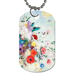 Floral Bouquet Dog Tag (two Sides) by Sobalvarro