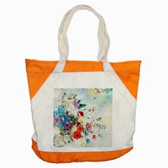 Floral Bouquet Accent Tote Bag by Sobalvarro