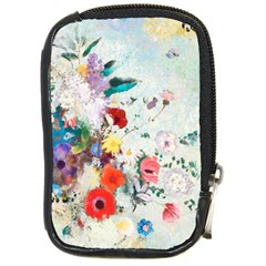 Floral Bouquet Compact Camera Leather Case by Sobalvarro