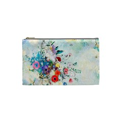 Floral Bouquet Cosmetic Bag (small) by Sobalvarro