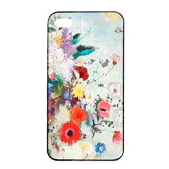 Floral Bouquet Iphone 4/4s Seamless Case (black) by Sobalvarro