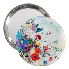 Floral Bouquet 3  Handbag Mirrors by Sobalvarro