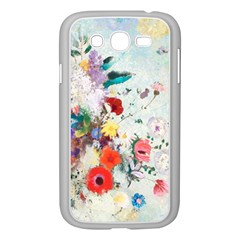 Floral Bouquet Samsung Galaxy Grand Duos I9082 Case (white) by Sobalvarro