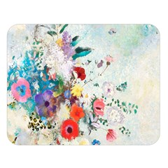 Floral Bouquet Double Sided Flano Blanket (large)  by Sobalvarro