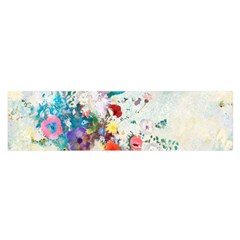 Floral Bouquet Satin Scarf (oblong) by Sobalvarro