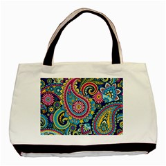 Ornament Basic Tote Bag (two Sides) by Sobalvarro