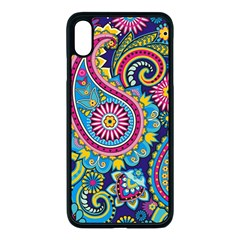 Ornament Iphone Xs Max Seamless Case (black) by Sobalvarro