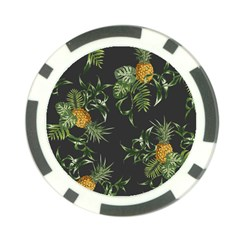 Pineapples Pattern Poker Chip Card Guard by Sobalvarro