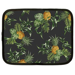 Pineapples Pattern Netbook Case (large) by Sobalvarro