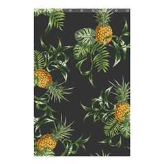 Pineapples Pattern Shower Curtain 48  X 72  (small)  by Sobalvarro