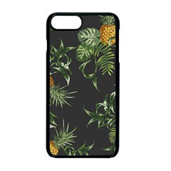 Pineapples Pattern Iphone 7 Plus Seamless Case (black) by Sobalvarro