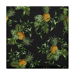 Pineapples Pattern Tile Coaster by Sobalvarro