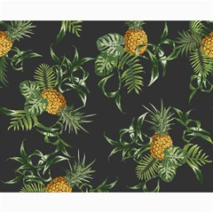 Pineapples Pattern Canvas 16  X 20  by Sobalvarro