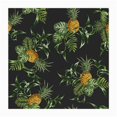 Pineapples Pattern Medium Glasses Cloth by Sobalvarro