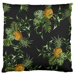 Pineapples Pattern Large Cushion Case (two Sides) by Sobalvarro