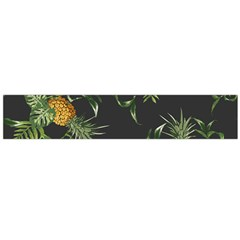 Pineapples Pattern Large Flano Scarf  by Sobalvarro