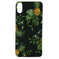 Pineapples Pattern Apple Iphone Xs Tpu Uv Case by Sobalvarro