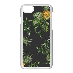 Pineapples Pattern Iphone 7 Seamless Case (white) by Sobalvarro