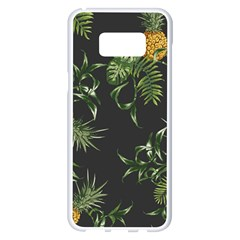 Pineapples Pattern Samsung Galaxy S8 Plus White Seamless Case by Sobalvarro