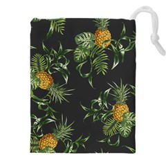 Pineapples Pattern Drawstring Pouch (xxxl) by Sobalvarro