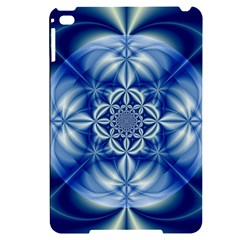 Abstract Art Artwork Fractal Design Apple Ipad Mini 4 Black Uv Print Case by Simbadda