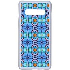 K 3 Samsung Galaxy S10 Plus Seamless Case(white) by ArtworkByPatrick