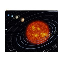 Solar System Planet Planetary System Cosmetic Bag (xl)