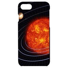 Solar System Planet Planetary System Iphone 7/8 Black Uv Print Case by Sudhe
