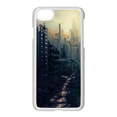 Apocalypse Post Apocalyptic Iphone 8 Seamless Case (white) by Sudhe