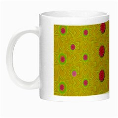 Bloom On In  The Sunshine Decorative Night Luminous Mugs by pepitasart
