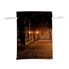City Night Dark Architecture Lamps Lightweight Drawstring Pouch (l)