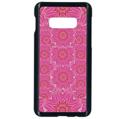 Bloom On In  The Soft Sunshine Decorative Samsung Galaxy S10e Seamless Case (black) by pepitasart