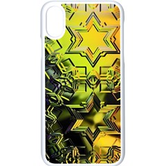 Background Star Abstract Colorful Iphone Xs Seamless Case (white)