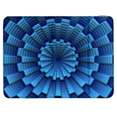 Mandala Background Texture Samsung Galaxy Tab 7  P1000 Flip Case by HermanTelo