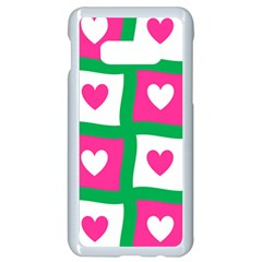Pink Love Valentine Samsung Galaxy S10e Seamless Case (white) by Mariart
